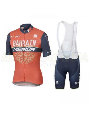 SPORTFUL Team Merida Bahrain: set maglia e pantaloncino