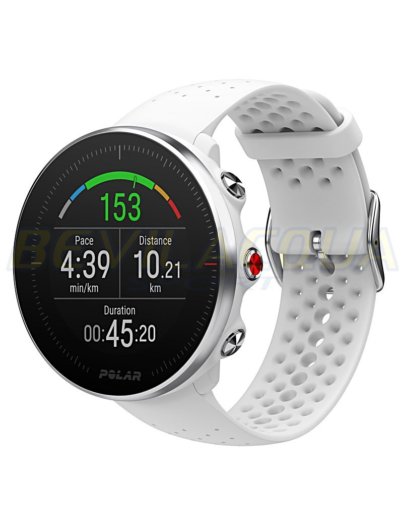 POLAR Vantage M multisport watch bianco