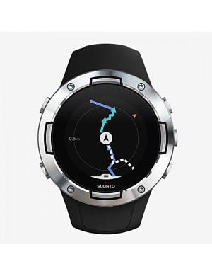 suunto 5 black steel (front)