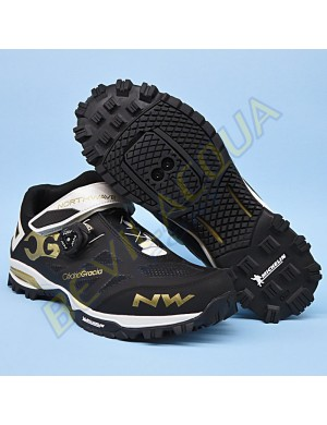 Northwave Enduro Mid black-white-gold