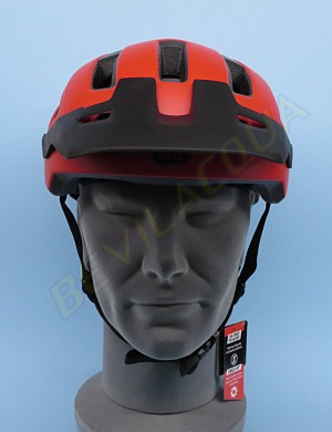 Casco BELL NOMAD rosso opaco (front)