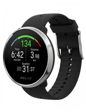 fitness watch con GPS POLAR Ignite nero