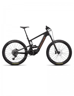 Santa Cruz Heckler nera S-kit