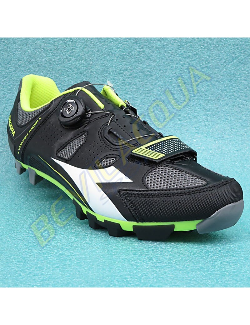 sports shoes 4f489 9a49a scarpe diadora x-vortex-racer 2 nero giallo fl