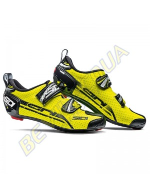 SIDI T4 air carbon composite giallo fluo