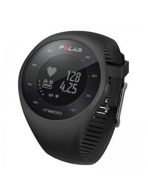 POLAR M200: cardiofrequenzimetro GPS nero