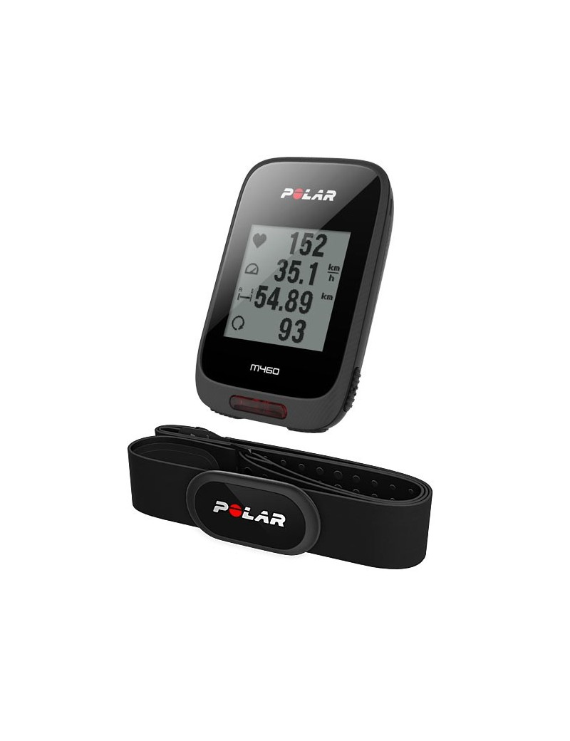 POLAR M460 HR gps Bike Computer